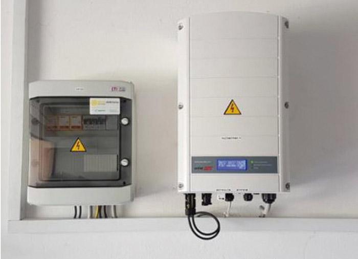 enertec Razsmernik s pripadajocim elektro razdelilcem
