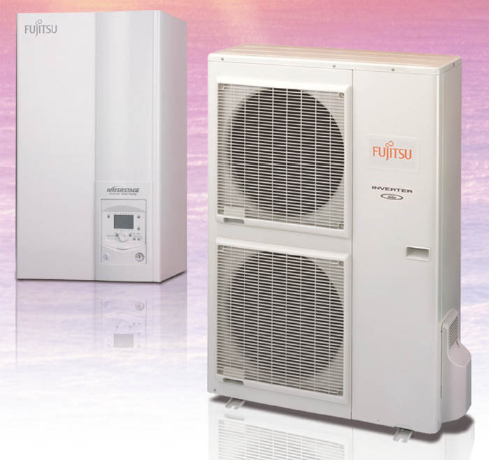 Toplotna crpalka Fujitsu Waterstage Super High Power